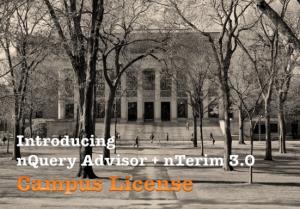 Introducing the nQuery Advisor + nTerim Campus Licence.