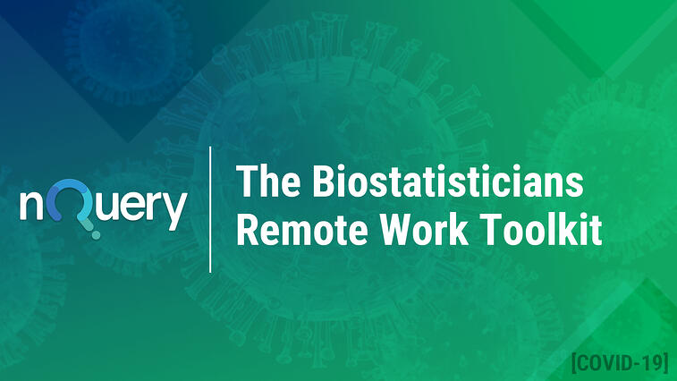 The Biostatisticians Remote Work Toolkit