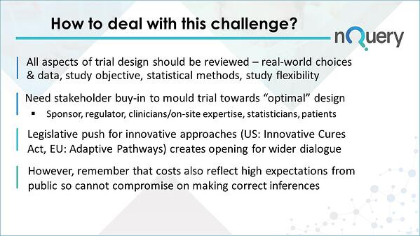 How to deal with clinical trial challenges
