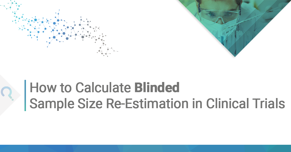 How to Calculate Blinded sample size re-estimation in clinical trials ft image