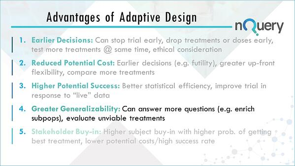 Greater Generalizability by using adaptive clinical trial designs