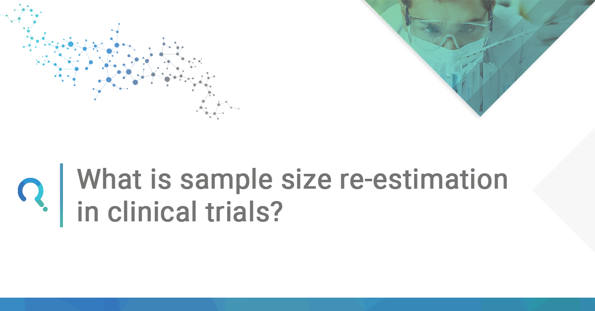 What is sample size re-estimation in clinical trials ft image