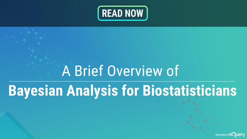 A Brief Overview of Bayesian Analyses for Biostatisticians Header Image