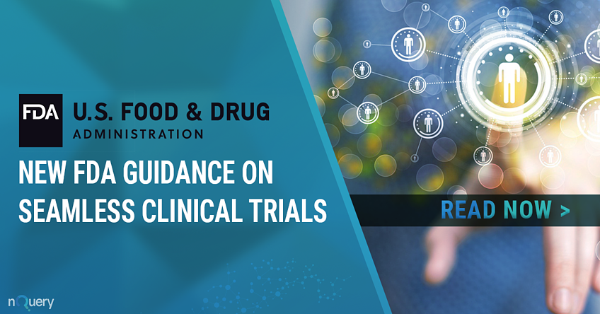 New FDA guidance on seamless trials