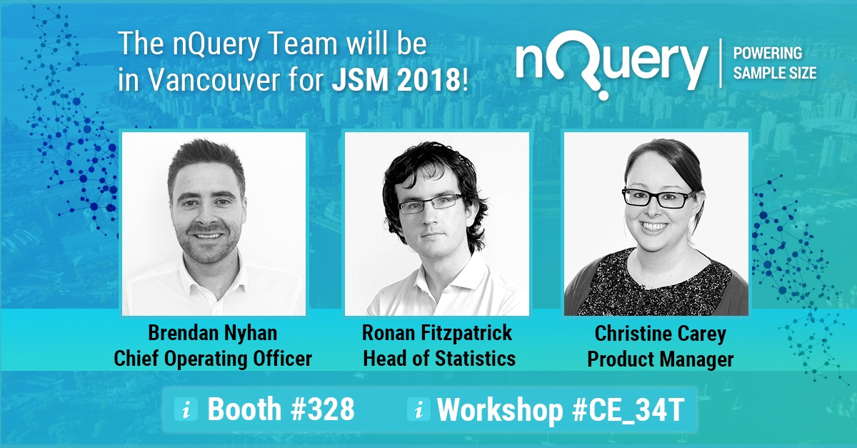 nQuery at JSM #LeadWithStatistics 2.0