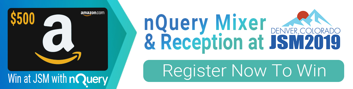 Win a $500 Amazon Gift Card - nQuery JSM 2019 Mixer - Register Now