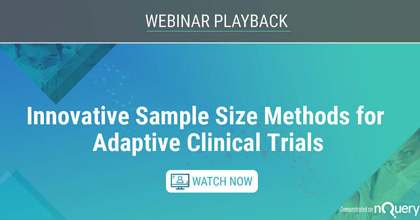 Innovative Sample Size Methods for Adaptive Clinical Trials Watch on Demand
